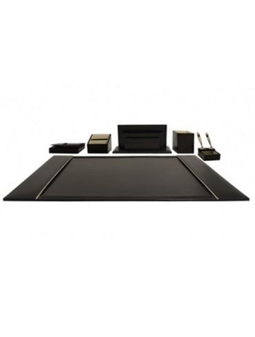 Grandluxe Leather Desk Blotter/Sets 6PC