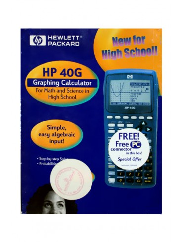 HP Graphing Calculator HP 40G