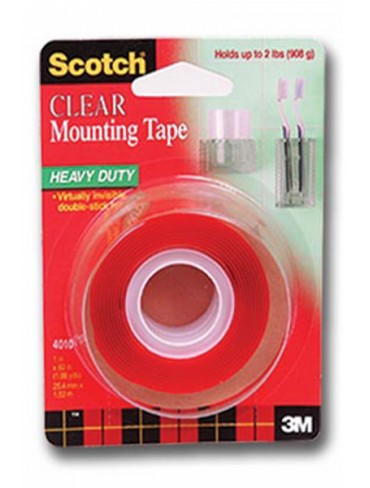 3M Scotch Clear Mounting Tape 4010