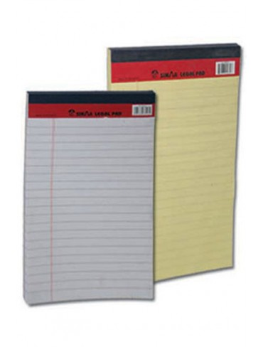 Sinarline Writing Pad A5 50L