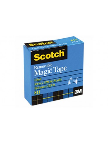 3M Scotch Removable Magic Tape 811