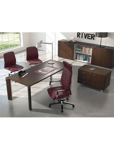 Las Mobili Fill Evo Executive Desk 102