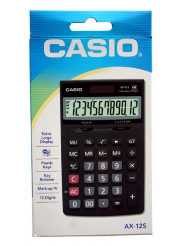 Casio Desktop Calculator AX-12S