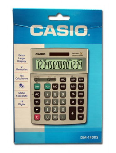 Casio Desktop Calculator DM-1400S