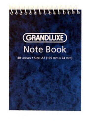Grandluxe Spiral Pad A7 40 Leaves A740L