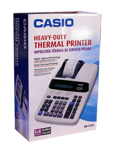 Casio Heavy-Duty Thermal Printing Calculator DRT140