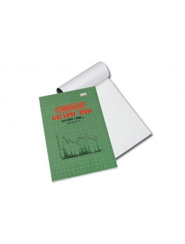 Grandluxe Graph Writing Pad A4