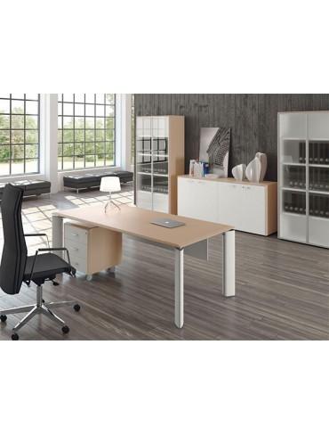 Las Mobili Fill Evo Executive Desk 104