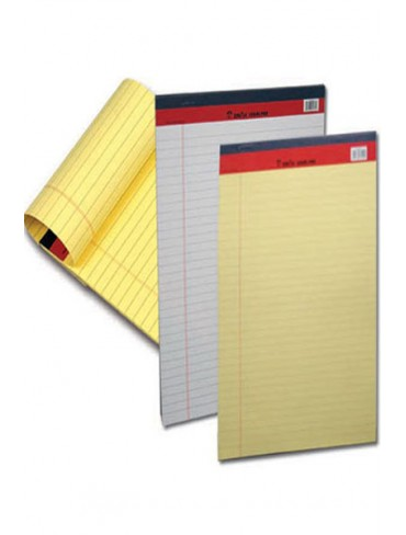 Sinarline Writing Pad A4 White/Yellow
