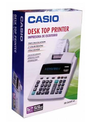Casio Desk Top Printer Calculator FR-2650T