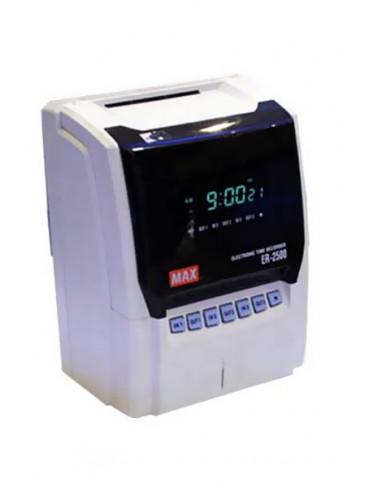 Max Machine Time Recorder ER 1500 - 2500 EBS