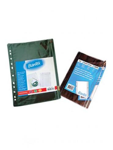 Bantex Plastic Pockets 2071 A4