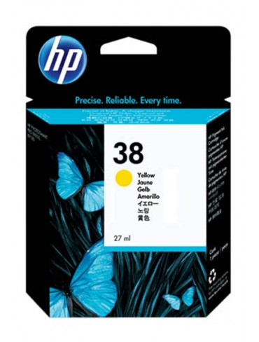 HP Ink Cartridge C9417 Yellow