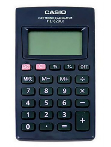 Casio Pocket Calculator HL-820