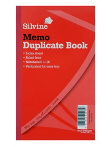 Silvine Duplicate Book A5 209x127mm