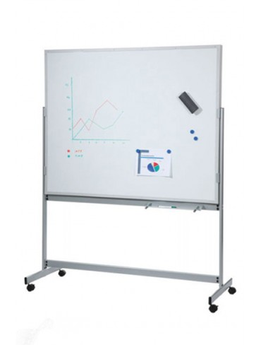 Rocada Double Sided Magnetic White Board 150x100cm 6850N