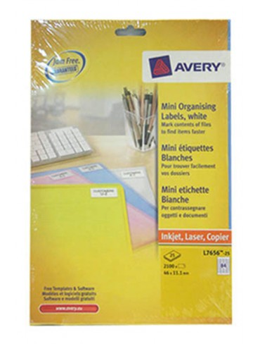 Avery Mini Organising Label L7656