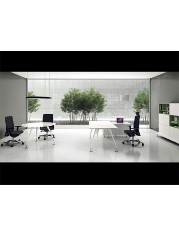 Las Mobili Enosi Evo Executive Desk 15