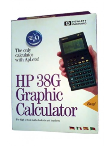 HP Graphic Calculator HP 38G
