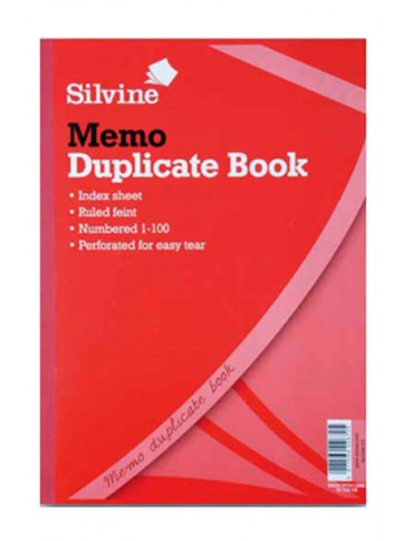 Silvine Duplicate Book 254x203mm
