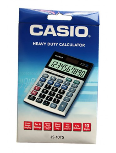 Casio Heavy Duty Calculator JS-10TS