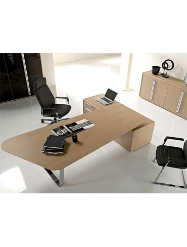 Las Mobili Seventies Executive Desk 036