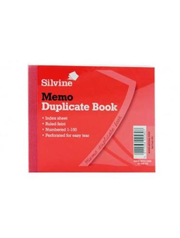 Silvine Duplicate Book A6 101x127mm