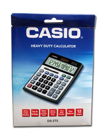 Casio Heavy Duty Calculator DS-2TS