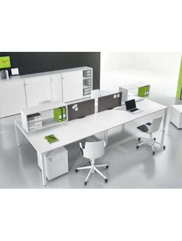 Levira Workstation Desk