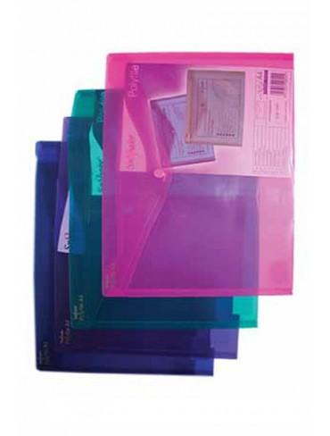 Snopake Plastic Wallet File 12831