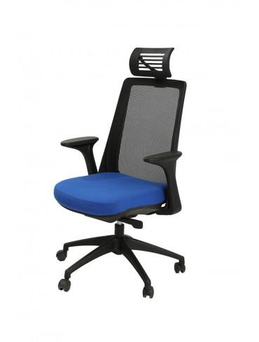 Etam Black High Operative Mesh Chair