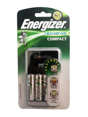 Energizer 4AA Recharge Compact Battery CHCCWB4