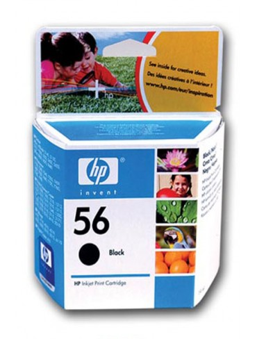 HP Ink Cartridge C6656AE Black