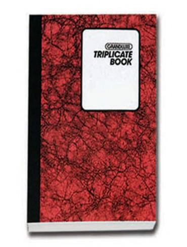 Grandluxe Triplicate Book A4