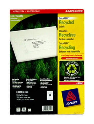 Avery Recycled Label LR7163