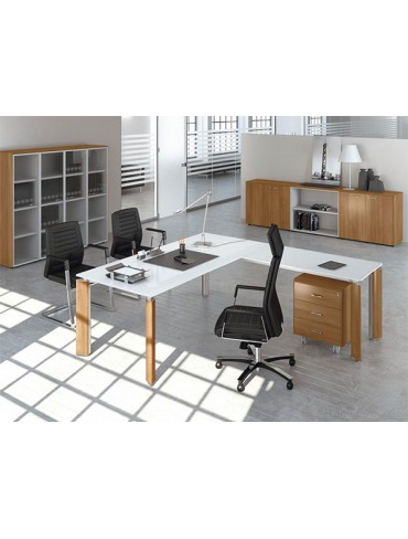 Las Mobili Fill Evo Executive Desk 110