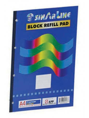 Sinarline Refill Pad A4 80L
