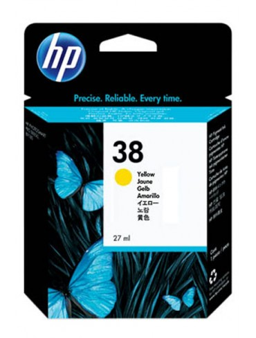 HP Ink Cartridge C9417A Yellow