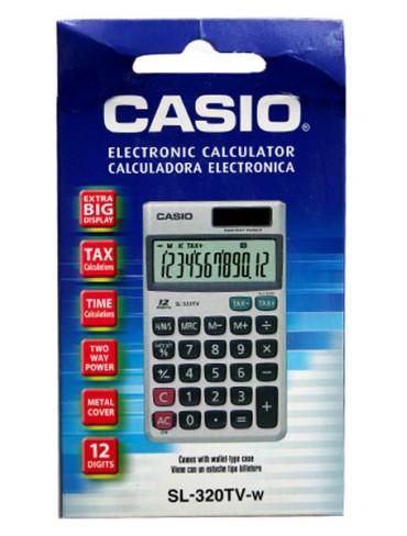 Casio Desktop Calculator SL-320TV-w