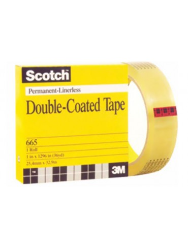3M Scotch Double-Coated Tape 665x36