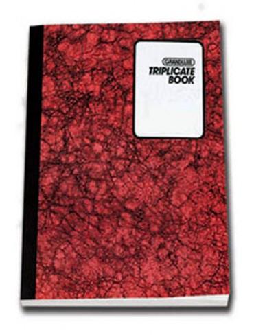 Grandluxe Triplicate Book A6