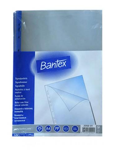 Bantex Plastic Pockets 2050 BL