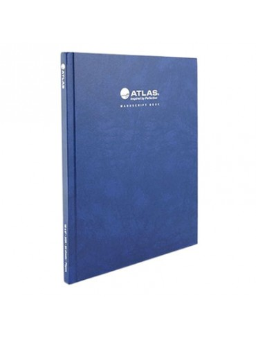 Atlas Manuscript Book 96 Sheets - Blue