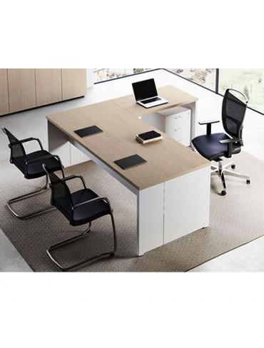 Delta Evo Executive Desk MDF Melamine Finish