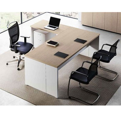 Delta Evo Executive Desk MDF Melamine Finish
