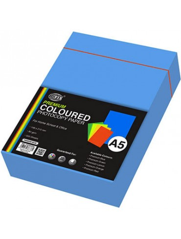 FIS Premium Colour Photocopy Paper 80gsm A5