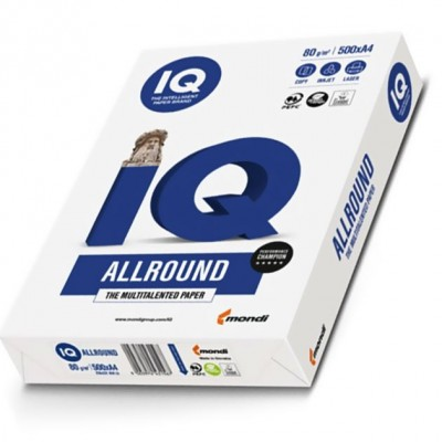 IQ Allround Multitalented Photocopy Paper 80gsm A4