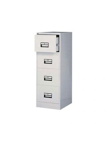 Metal Cabinet Gray 132ht x 45w x 58cm