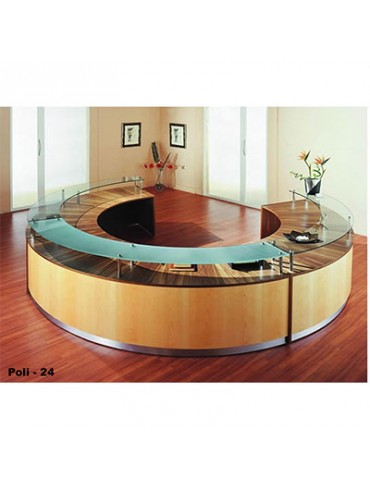 Poli 24 Reception Desk