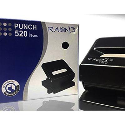 Raion Paper Punch 520 Black